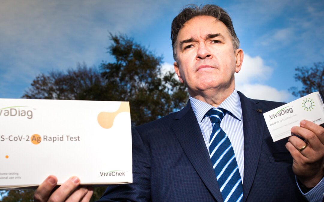 NI Company Alpha PH launches first rapid swab test for Covid-19