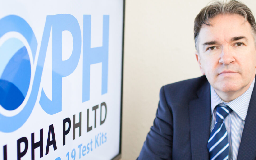 Alpha PH Launches first 'game-changing' Saliva Rapid Test for Covid-19 in NI